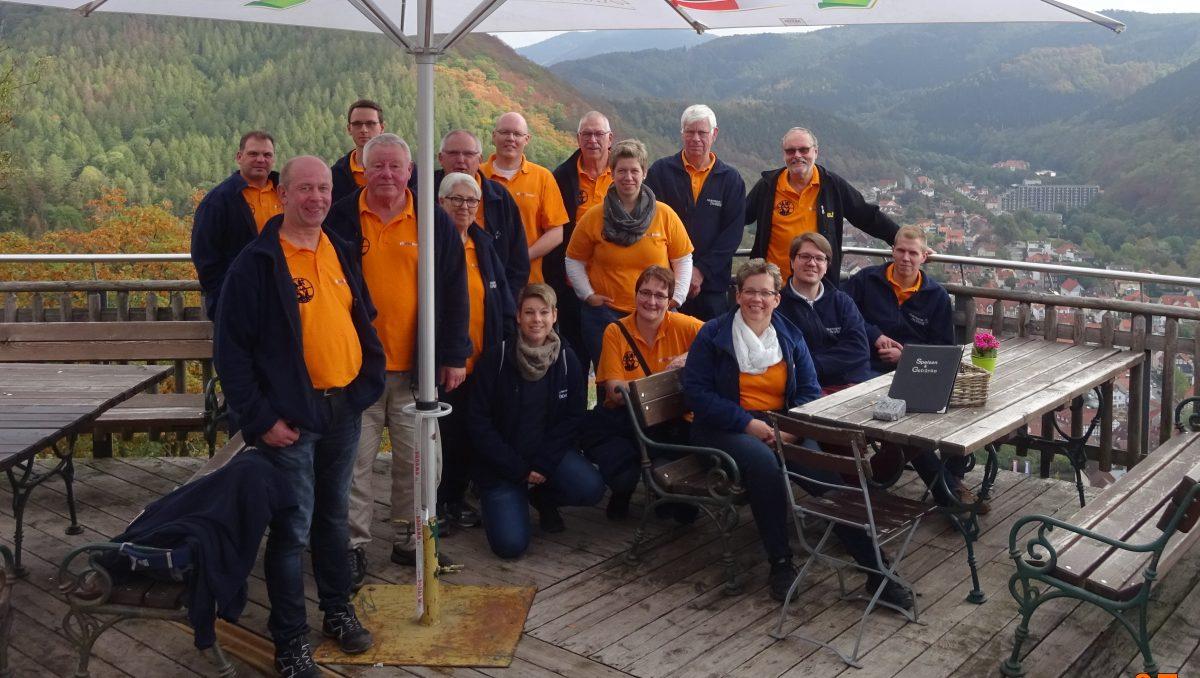 Kommando der Feuerwehr Dorste auf Tour